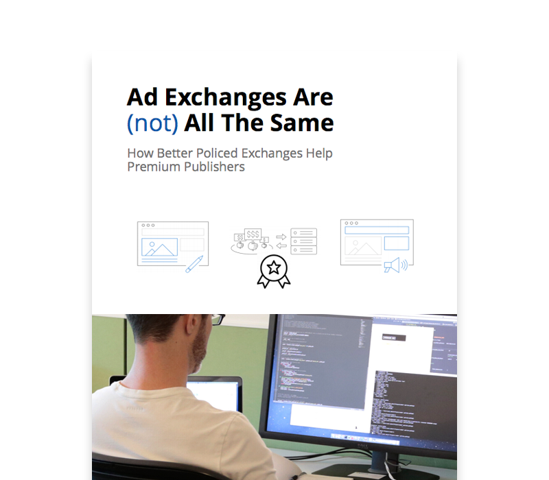 OX ThoughtLeadership NotAllAdExchanges - OpenX Ad Exchange: Delivering Against the Highest Standards